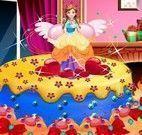 Decorar bolo da princesa Anna