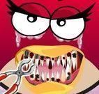 Dentista menina Angry Birds