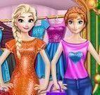 Elsa e Anna vestidos