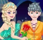 Elsa e Jack roupas do baile