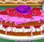 Fazer bolo de frutas vermelhas
