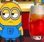 Minion preparar bebidas