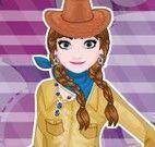 Moda cowgirl Frozen
