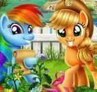 My Little Pony plantar legumes