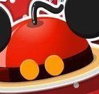 Receita bolo do Mickey