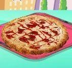 Receita de pizza doce
