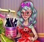 Roupas de carnaval da menina