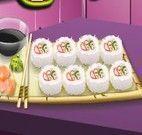 Sara receita de sushi california