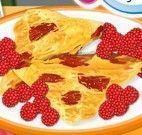 Tortilhas de frutas vermelhas