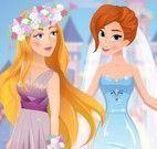 Barbie e Elsa rivais