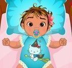 Bebê Moana cuidados