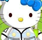 Hello Kitty roupas de inverno
