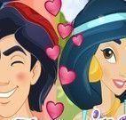 Jasmine e Aladim redes sociais