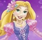 Pintar princesa Rapunzel