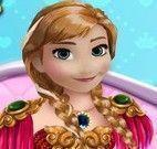 Princesa Anna maquiagem e unhas