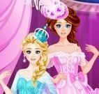 Princesas moda vestido