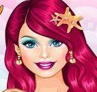 Roupas da sereia Barbie