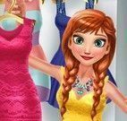 Anna Frozen no shopping