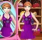 Anna Frozen vestir roupas