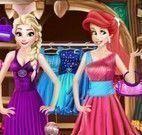 Ariel e Elsa  closet