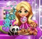 Bebê Rapunzel achar Kinder Ovo