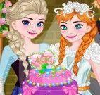 Bolo de casamento da princesa Anna