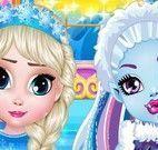 Cuidados da Abbey e Elsa bebês