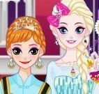 Maquiagem princesas Elsa e Anna