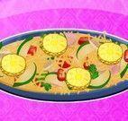 Preparar pizza de frango com abacaxi