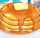 Receita de panquecas com mel