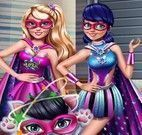Super Barbie e Miraculous detetive