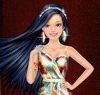Vestir e maquiar Barbie princesa