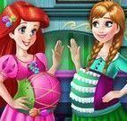 Anna e Ariel grávidas