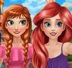 Anna e Ariel selfie
