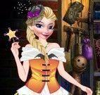 Anna e Elsa roupas da festa de Halloween
