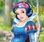 Branca de Neve na floresta moda
