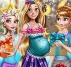 Chá de bebê da Rapunzel