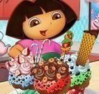 Dora enfeitar cupcakes