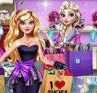 Elsa vender roupas