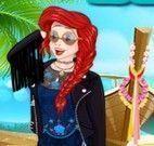 Jasmine e Ariel hippie