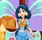 Jasmine vestir moda fada Winx
