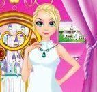 Menina noiva vestido