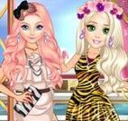 Vestir e maquiar princesas modelo