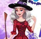 Vestir menina bruxa
