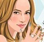 Jennifer Lopez Manicure