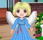 Vestir menina anjo