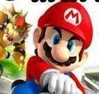 Corrida de carro 3D do Mario