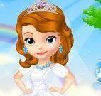 Vestir princesa Sofia noiva