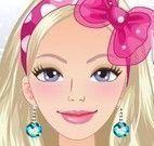 Barbie repórter na moda