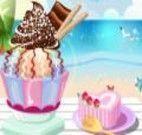 Decorar um gostoso sorvete
